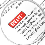 Can a property manager raise rent based on past rental history?