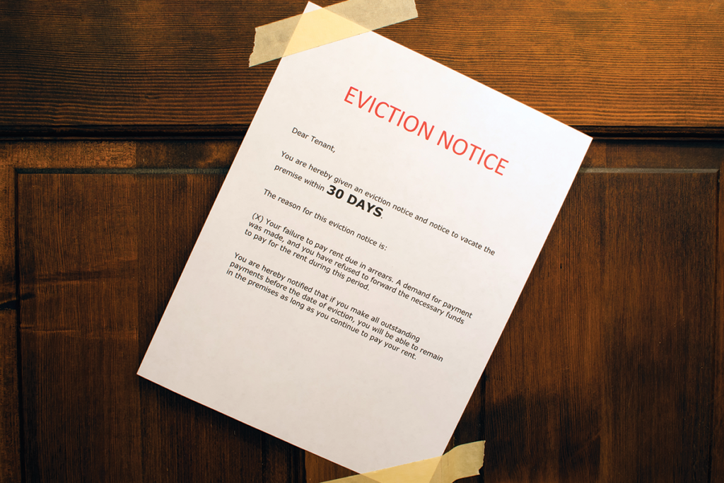 Eviction Mistake