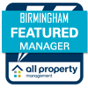 All Property Management Birmingham Featured Manager